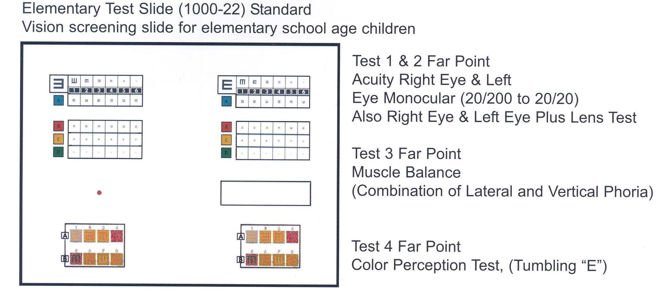 test slides optec 1000p