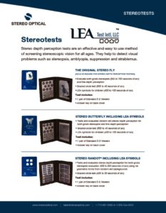 thumbnail of Stereotest LEA Symbols tearsheet email 120717