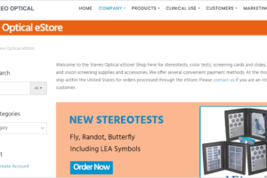 Stereo Optical Store is Now Live!